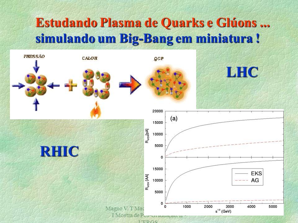 Magno V. T Machado, GFPAE/2002. I Mostra de Pós-Graduação, IF- UFRGS. 19 Processo Drell-Yan... Provando distribuições de quarks !