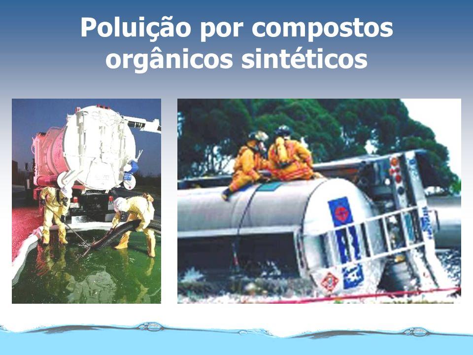 Poluição por compostos orgânicos sintéticos