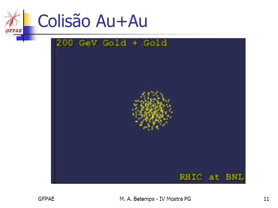 GFPAEM. A. Betemps - IV Mostra PG11 Colisão Au+Au