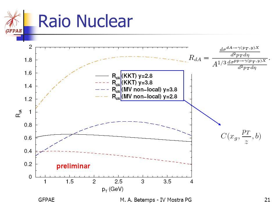 GFPAEM. A. Betemps - IV Mostra PG21 Raio Nuclear preliminar