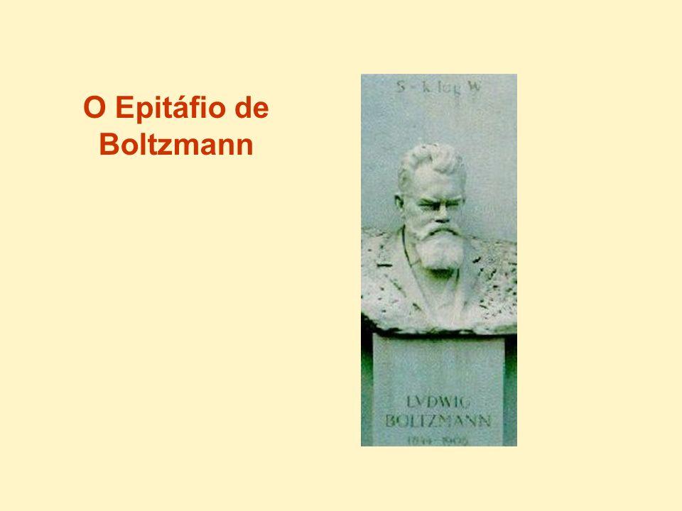 O Epitáfio de Boltzmann