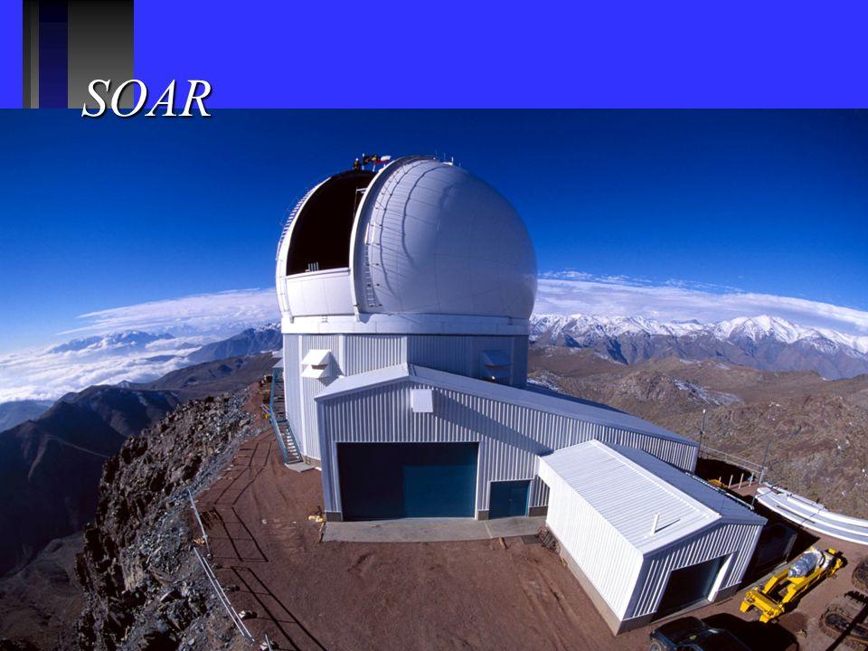 SOAR 30% de um telescópio de 4 metros