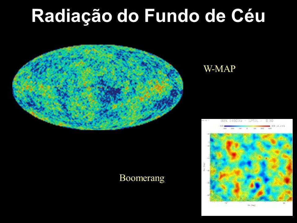 Radiação do Fundo de Céu W-MAP Boomerang