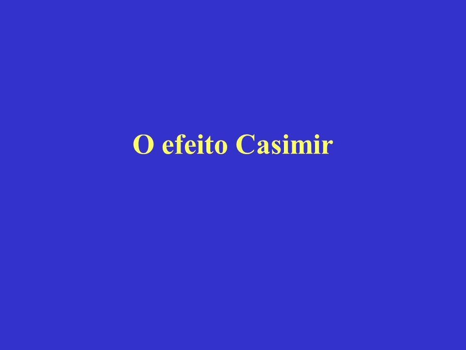 O efeito Casimir