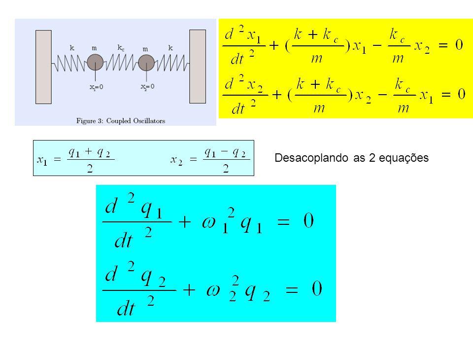2 equações acopladas
