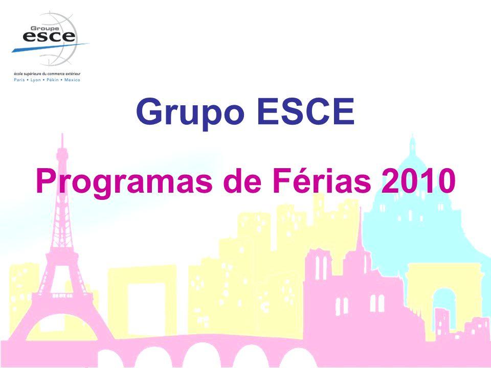 Grupo ESCE Programas de Férias 2010