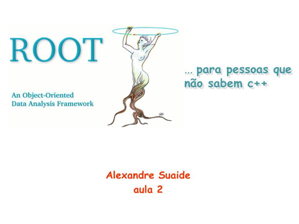 Procurando objetos na memória (gROOT) O ROOT mantém uma lista de objetos criados na memória.