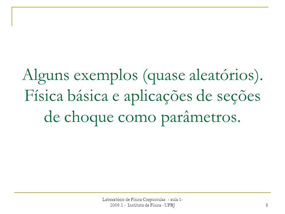 a) Aplicação a modelagem de plasmas: Exemplo: Geração de energia por Fusão Nuclear Controlada Plasma ~ sopa de íons, elétrons, átomos,...