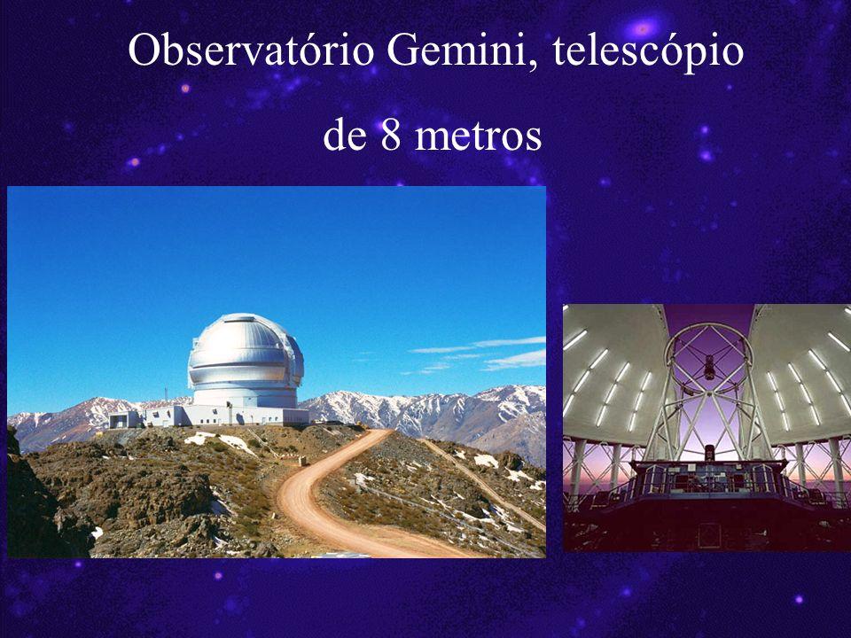 Observatório Gemini, telescópio de 8 metros