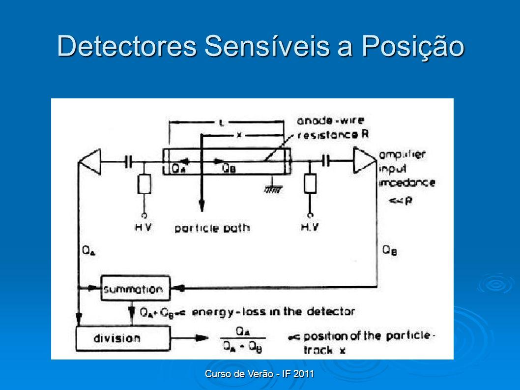 Curso de Verão - IF 2011 Detectores Sensíveis a Posição