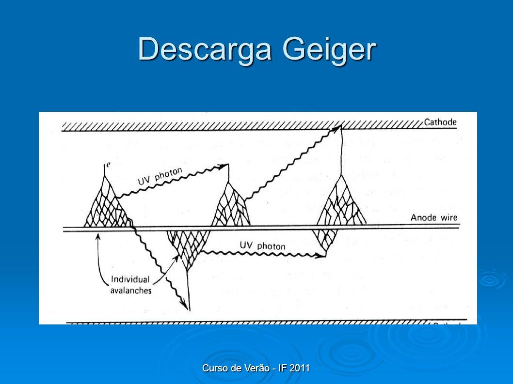 Curso de Verão - IF 2011 Descarga Geiger