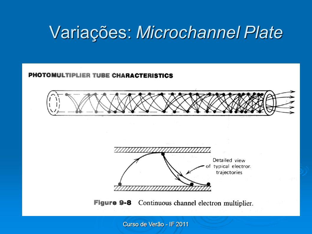 Curso de Verão - IF 2011 Variações: Microchannel Plate