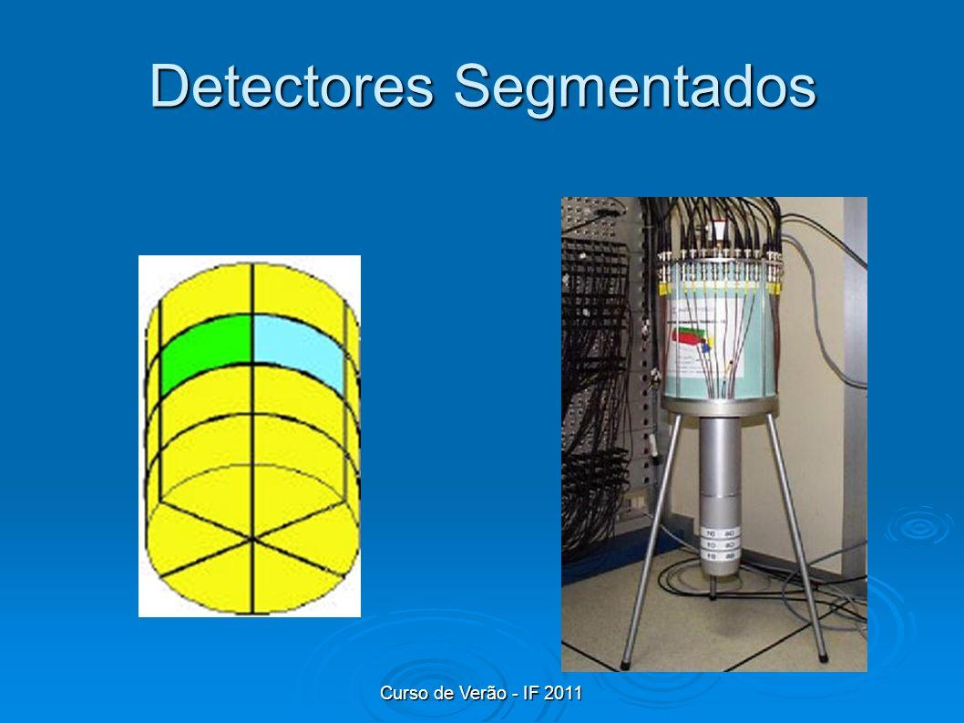 Curso de Verão - IF 2011 Detectores Segmentados