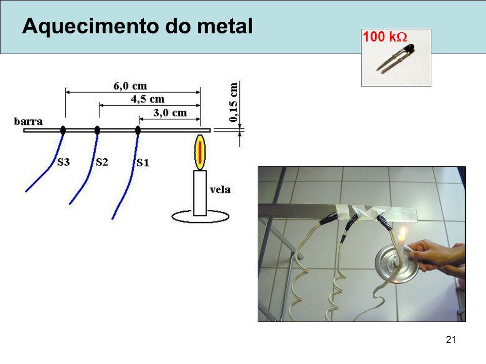 21 Aquecimento do metal 100 k