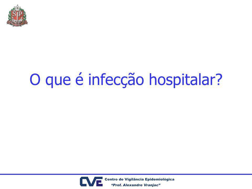 O que é infecção hospitalar?