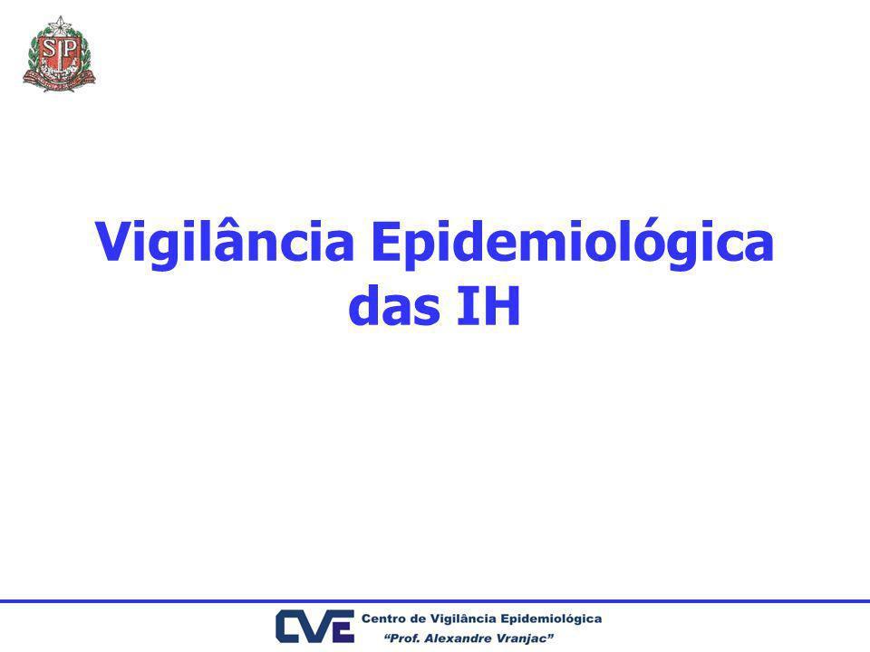 Vigilância Epidemiológica das IH