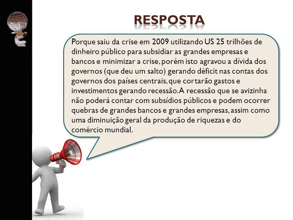 PERGUNTA PARA GRUPO 3 O crescimento dos países ditos BRICs vai gerar novas potências mundiais (China, Brasil, Índia, Rússia) e a decadência dos EUA e Europa, que deixarão de ser potências?