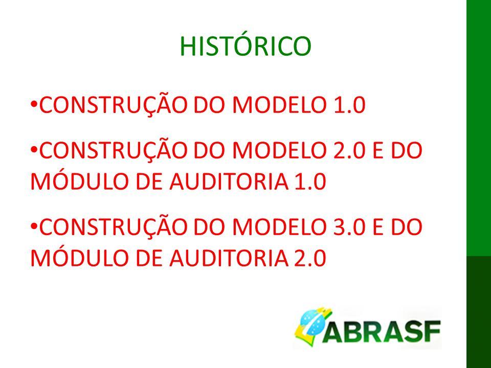 IX ENAT MODELO CONCEITUAL DA DES-IF HISTÓRICO CONSTRUÇÃO DO MODELO 1.0 CONSTRUÇÃO DO MODELO 2.0 E DO MÓDULO DE AUDITORIA 1.0 CONSTRUÇÃO DO MODELO 3.0