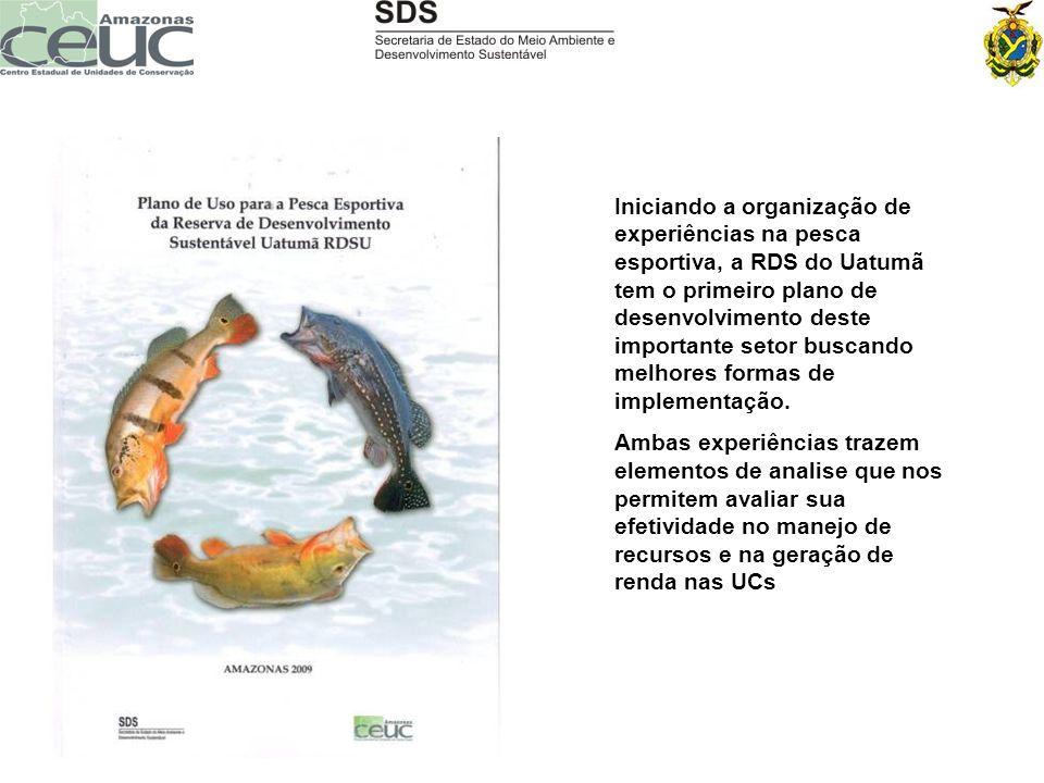 Iniciando a organização de experiências na pesca esportiva, a RDS do Uatumã tem o primeiro plano de desenvolvimento deste importante setor buscando me