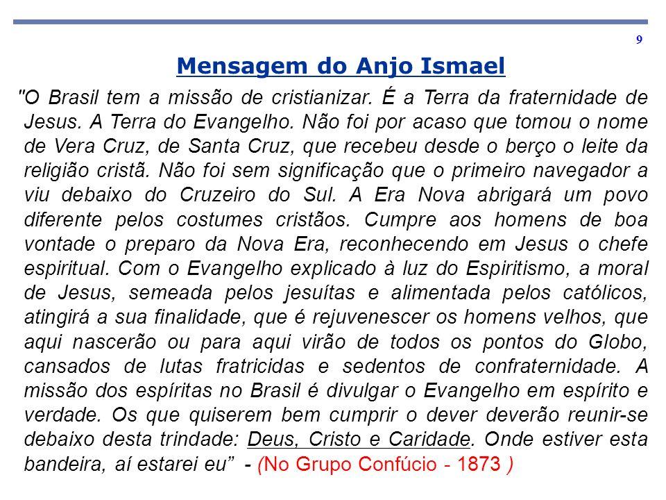 9 Mensagem do Anjo Ismael
