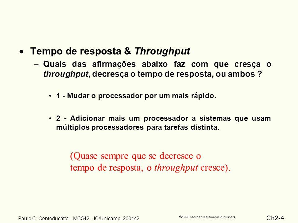 Ch2-4 1998 Morgan Kaufmann Publishers Paulo C.