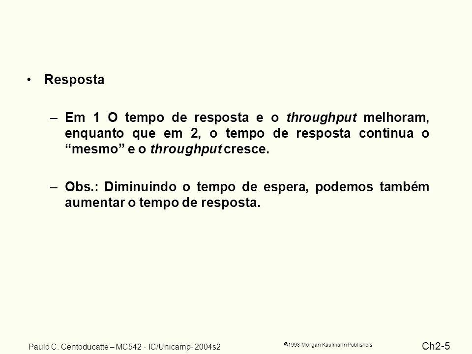 Ch2-5 1998 Morgan Kaufmann Publishers Paulo C.