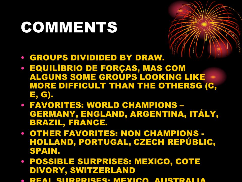 QUALIFIED QUALIFIED: GERMANY, ITALY, PORTUGAL AND FRANCE.