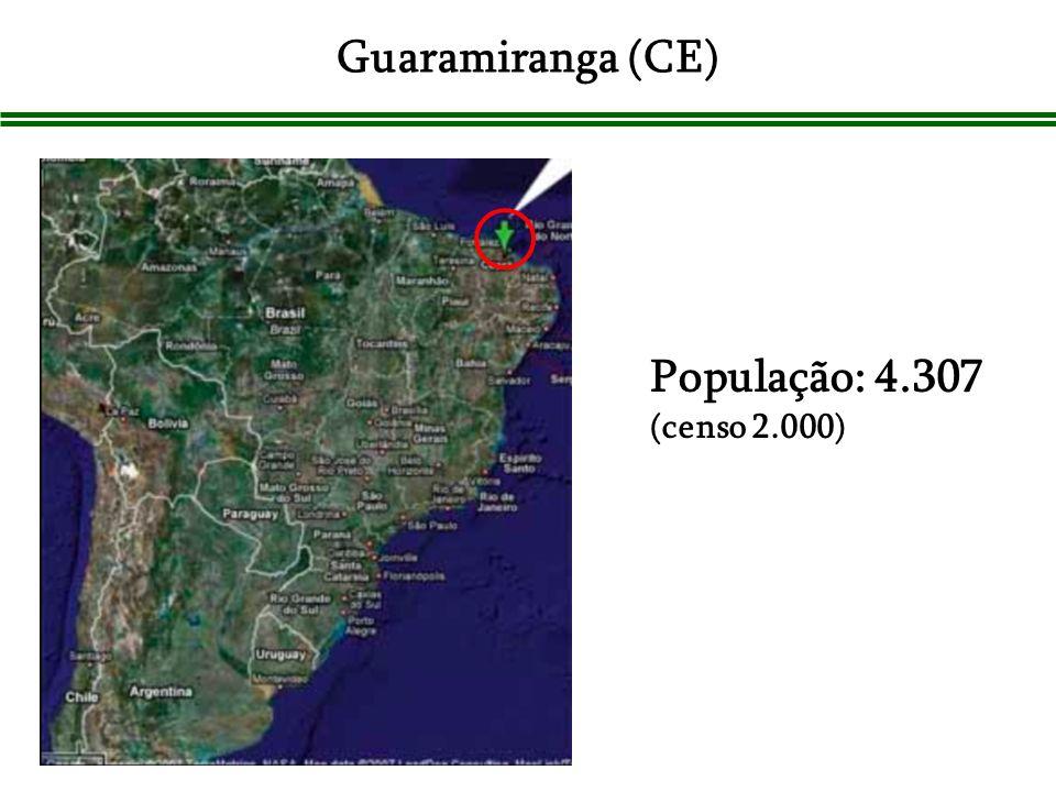 Guaramiranga (CE) População: 4.307 (censo 2.000)
