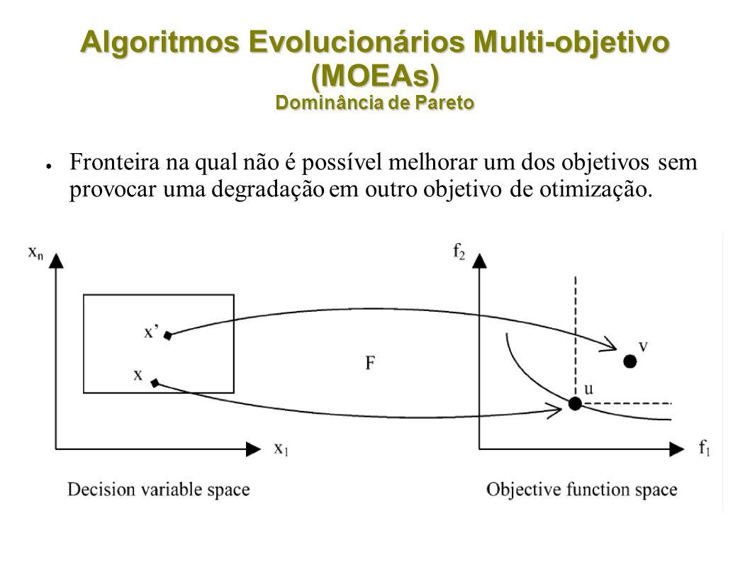 Fronteira na qual não é possível melhorar um dos objetivos sem provocar uma degradação em outro objetivo de otimização.