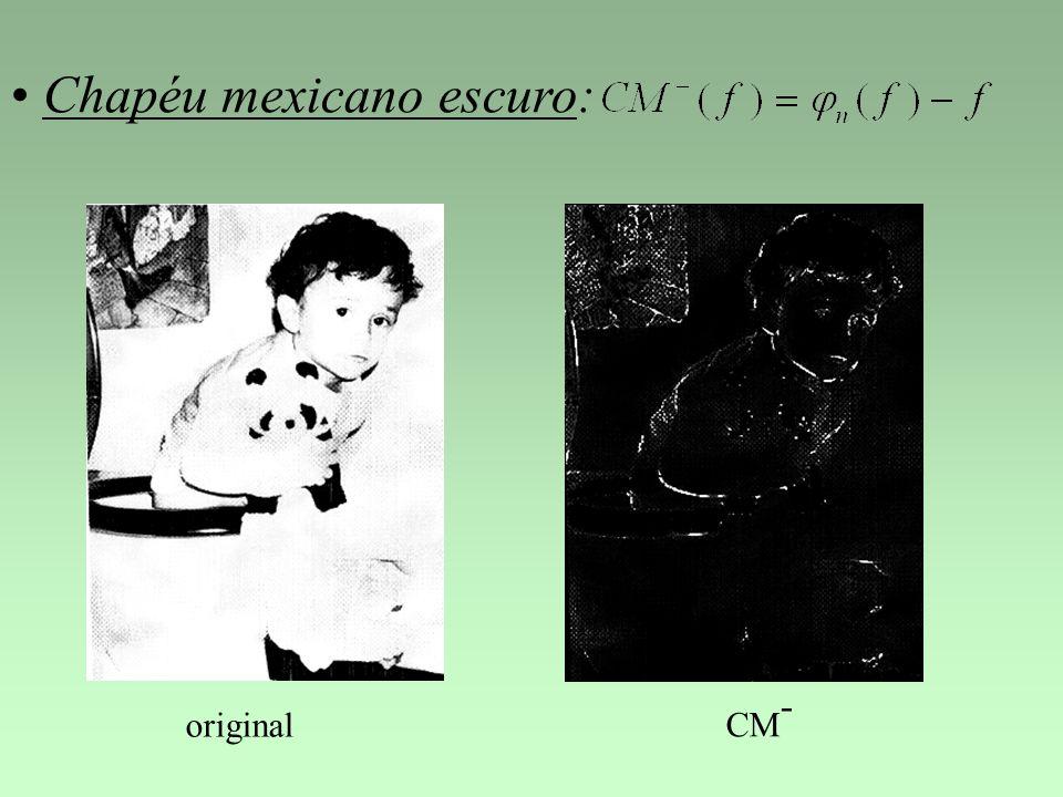Chapéu mexicano escuro: original CM -