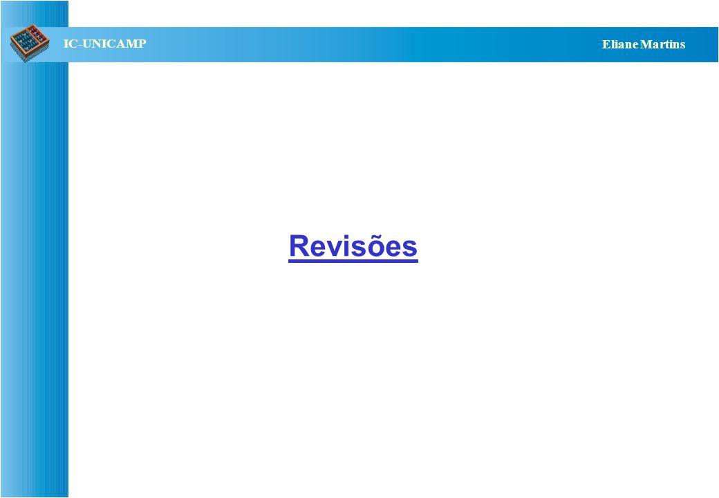 QST112 06/2001 IC-UNICAMP Eliane Martins Revisões