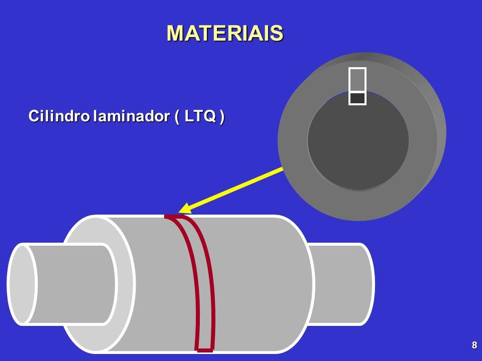 8 MATERIAIS Cilindro laminador ( LTQ )