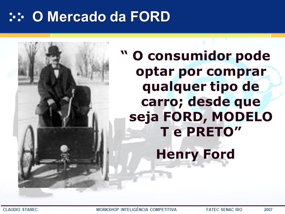 38 CLAUDIO STAREC WORKSHOP INTELIGÊNCIA COMPETITIVA FATEC SENAC RIO 2007 IC dá o norte…