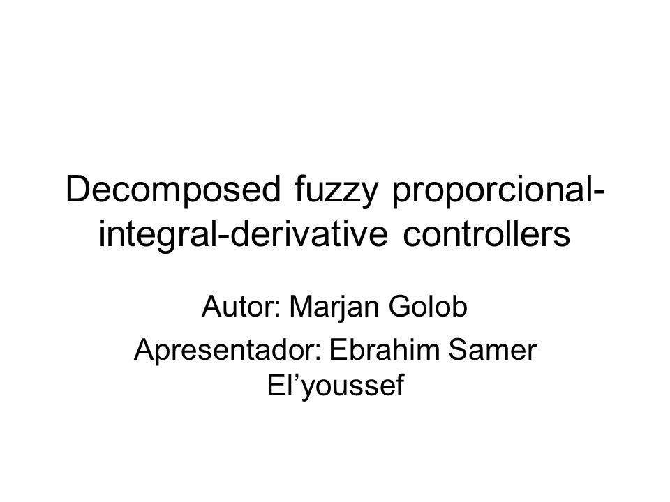 Conteúdo Descrição do controlador Outros controladores Sistema de suspensão magnética Parâmetros do controlador Experimentos e resultados