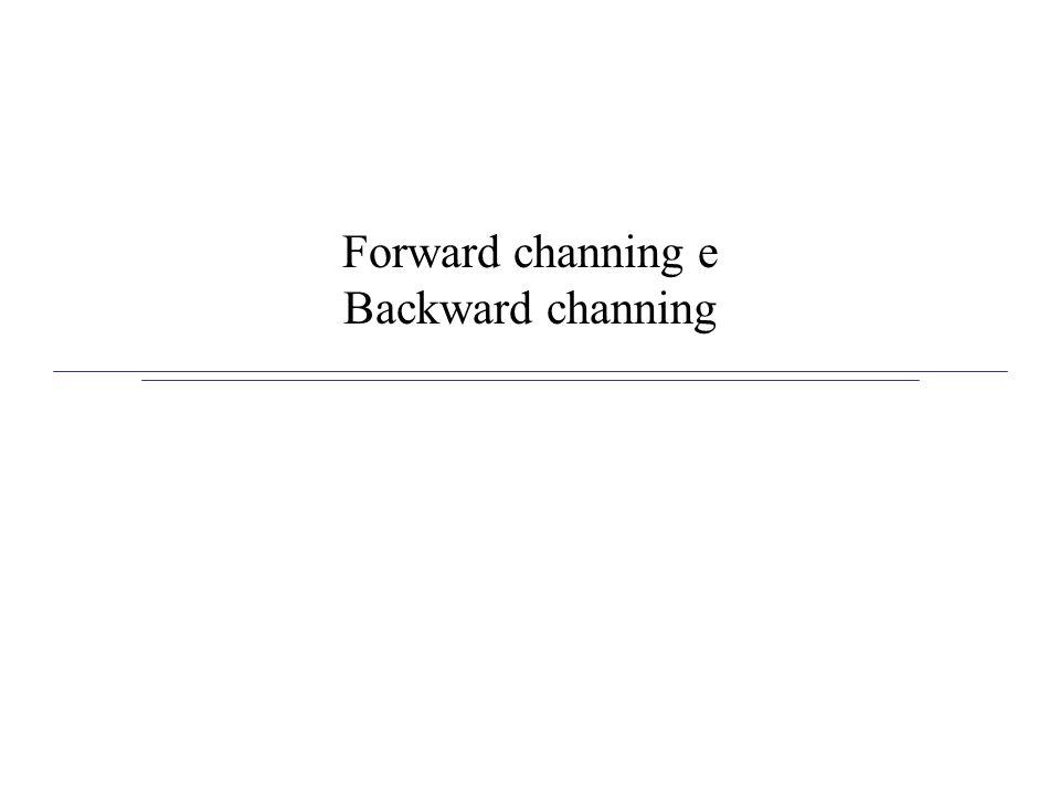 Forward channing e Backward channing