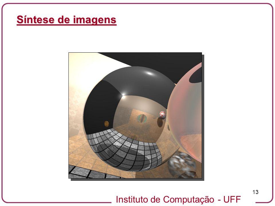 Instituto de Computação - UFF 13 Síntese de imagens