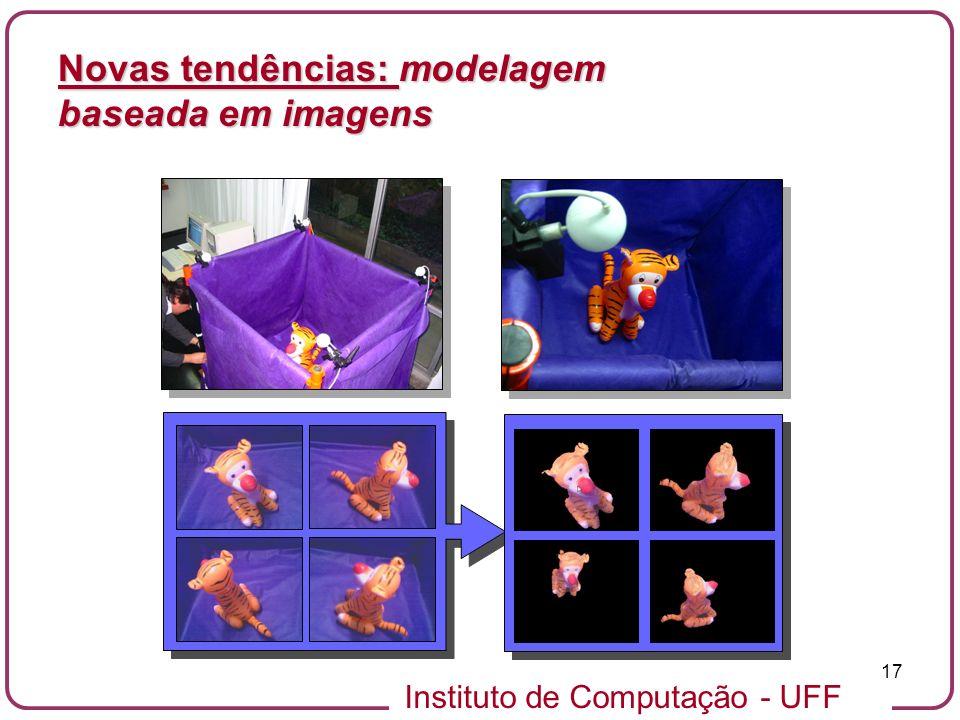 Instituto de Computação - UFF 17 Novas tendências: modelagem baseada em imagens