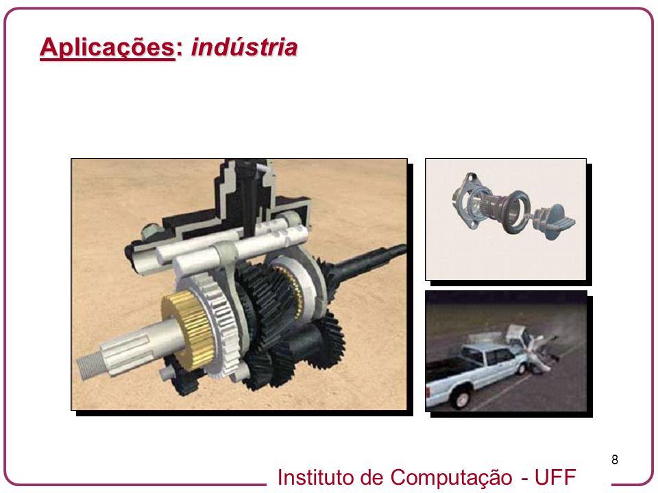 Instituto de Computação - UFF 8 Aplicações: indústria