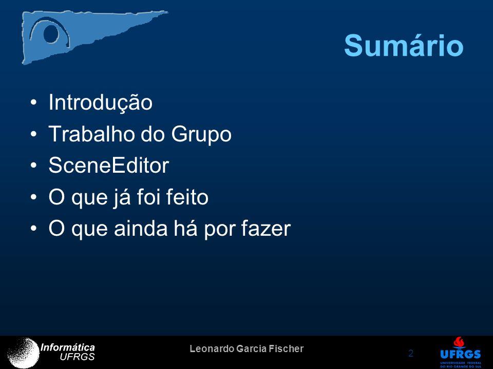 Leonardo Garcia Fischer 3 Introdução Porquê fazer simulações com humanos virtuais.