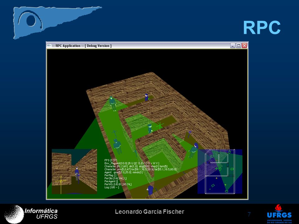 Leonardo Garcia Fischer 8 O que já foi feito Construção da estrutura do cenário Manipulação de objetos –Definição de atributos visuais –Definição de atributos semânticos Verificação de requisitos do RAS