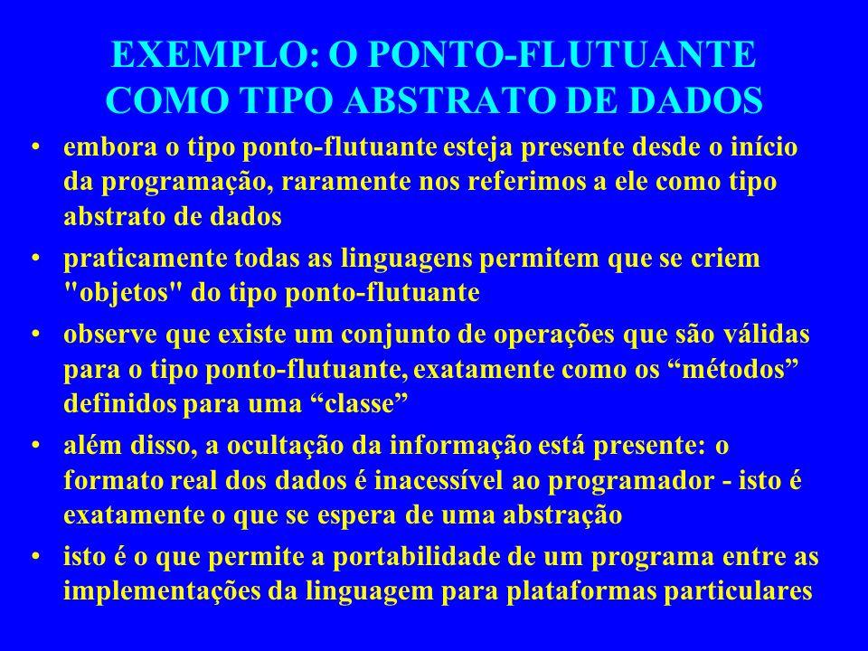 Exemplo #include class pilha { private: int *ptr_pilha; int tam_max; int top_ptr ; public: pilha( ){ //** um construtor ptr_pilha = new int [100]; tam_max = 99; top_ptr = -1; }