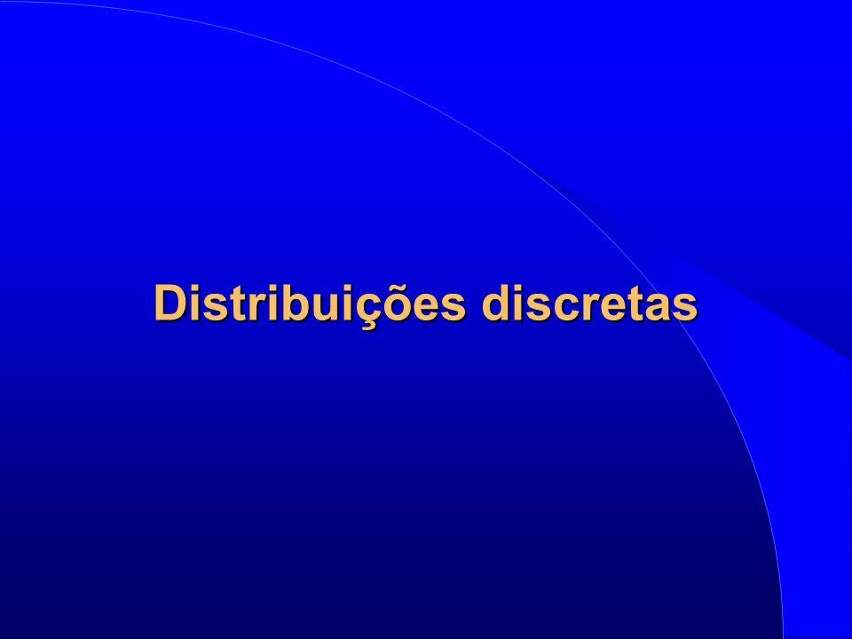 Distribuições discretas