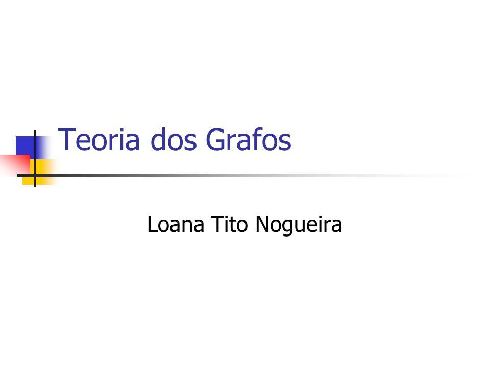 Teoria dos Grafos Loana Tito Nogueira