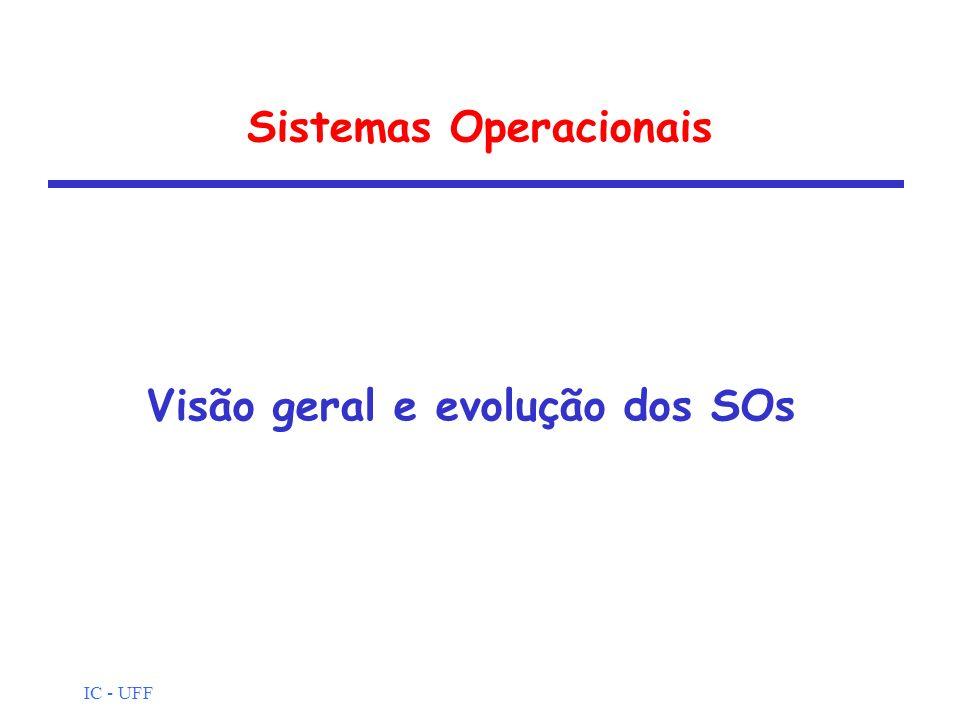 IC - UFF Sistema Operacional.