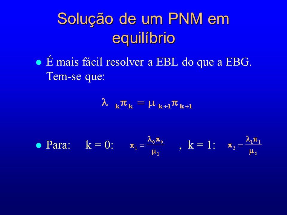 l É mais fácil resolver a EBL do que a EBG.