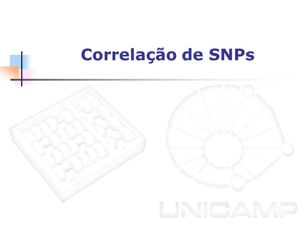 Correlação de SNPs