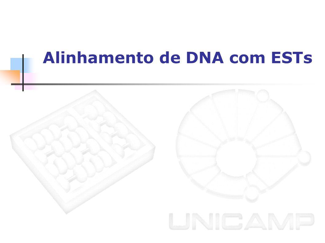 Alinhamento de DNA com ESTs