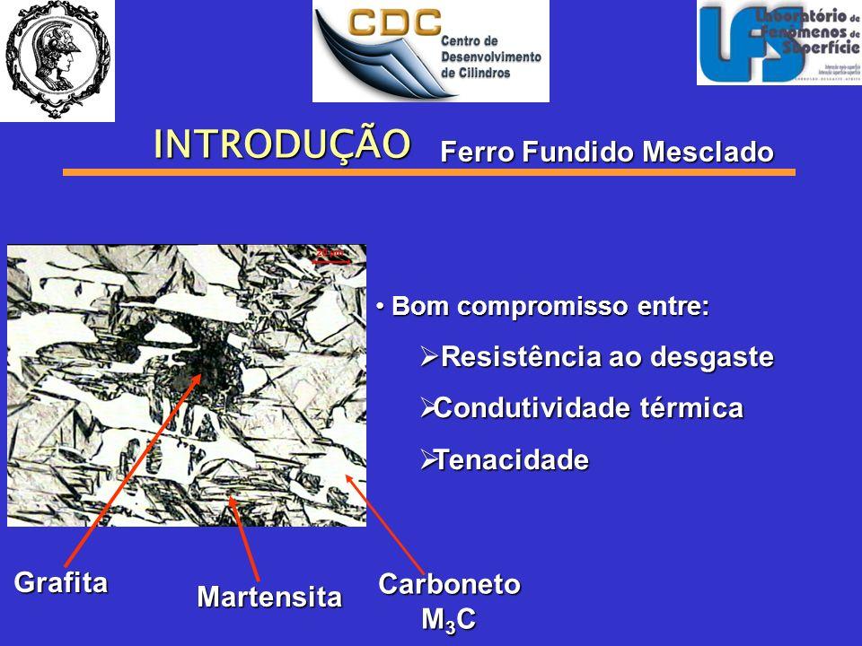 Objetivo Estudar Influência da Matriz no Desgaste Abrasivo de Ferro Fundido Mesclado
