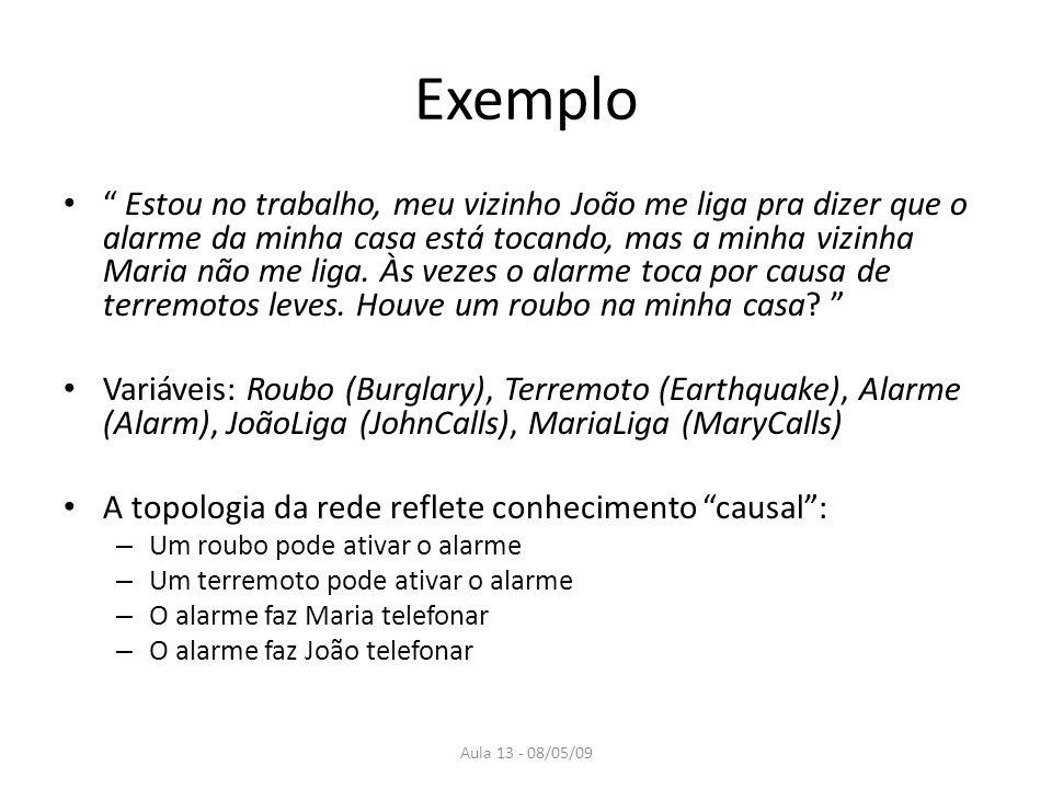 Aula 13 - 08/05/09 Exemplo