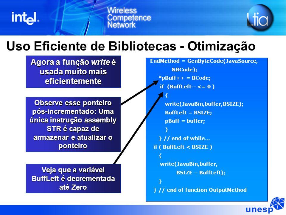 EndMethod = GenByteCode(JavaSource, &BCode); *pBuff++ = BCode; if (BuffLeft-- <= 0 ) { write(JavaBin,buffer,BSIZE); BuffLeft = BSIZE; pBuff = buffer;
